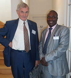 WFI Vienna Meeting, Stan Grierson, ShareSoc UK and Oderinde Taiwo, Nigeria